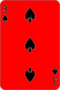 Three of Spades, swapped