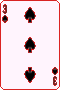 Three of Spades, selected