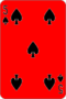 Five of Spades, moved