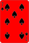 Seven of Spades, moved