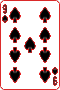 Nine of Spades, selected